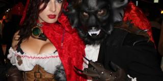 Rdeča kapica in volk (Foto: Pinterest)