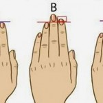 Kaj o vaši osebnosti razkrivajo vaši prsti?