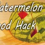 Ste vedeli, da že celo življenje lubenico režete popolnoma narobe? (video)