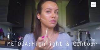 Video nasvet za ličenje: Osvetlitev in zatemnitev obraza