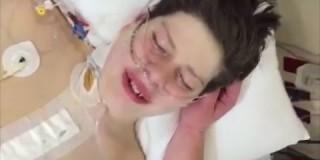 Svet je ganila prva reakcija najstnika po operaciji, s katero so mu presadili srce