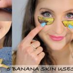 5 načinov, kako z bananinim olupkom do lepšega videza in boljšega zdravja
