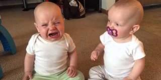 Ko je mama videla, zakaj se kregata dvojčici, jo se skoraj pobralo od smeha!