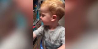 Video dneva: To so sanje vsakega otroka in njegova reakcija to samo potrjuje!