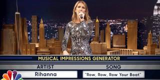 """Celine Dione """"v nulo"""" obvlada oponašanje Cher, Sie in Rihanne!"""