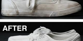 Uporaben nasvet: Kako bele platnene čevlje narediti znova brezhibno bele