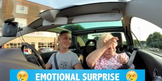 Video dneva: Vnuk je babici za rojstni dan pripravil najlepše presenečenje