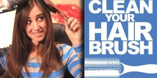 Uporaben nasvet: Kako temeljito očistiti krtačo za lase
