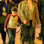 Jennifer Lopez spotted holding hands with her son Max as walking to the set of Shades of Blue in New York City, Image: 305281678, License: Rights-managed, Restrictions: -ALLCOUNTRY, Model Release: no, Credit line: Profimedia, Splash