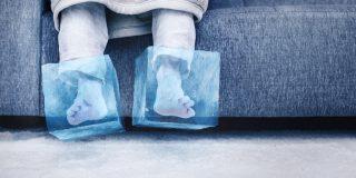 kako segreti vedno mrzle noge
