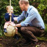Princ George, princesa Charlotte in princ Louis v naravi 6