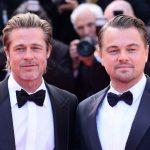 Leonardo DiCaprio in Brad Pitt na rdeči preprogi