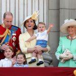 Kate Middleton skušala sama frizirati malo Charlotte 3