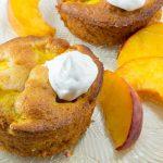 muffini z breskvami
