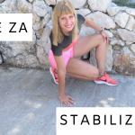 vaje za stabilizacijo