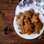 božični piškoti z manj sladkorja in masla