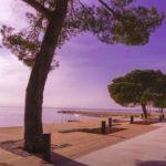 prenovljena plaža v Strunjanu