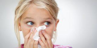 prehladna obolenja med otroci